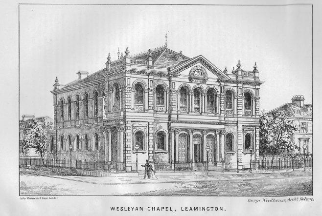 Dale Street Wesleyan Methodist chapel, Leamington | Wesleyan Chapel Committee, 1870
