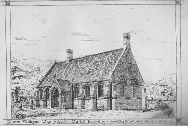 Market Rasen Wesleyan Day School   Wesleyan Chapel Committee, 1871