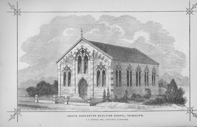 South Gorleston Wesleyan Methodist chapel | Wesleyan Chapel Committee, 1866