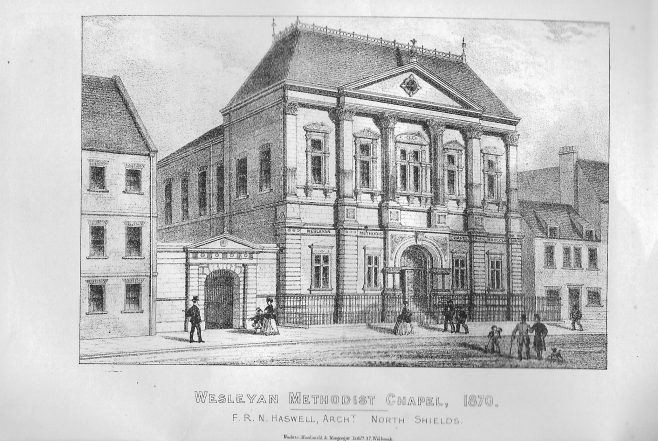 Tynemouth, Front Street | Wesleyan Chapel Committee, 1870
