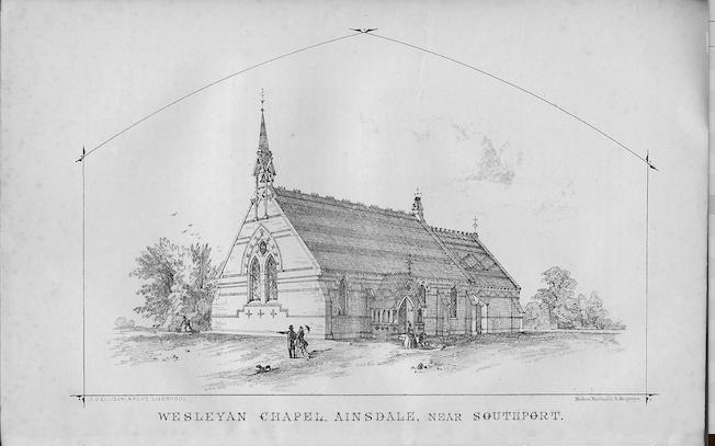Ainsdale Wesleyan Chapel | Wesleyan Chapel Committee, 1866