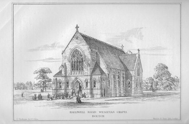 Halliwell Road Wesleyan Chapel, Bolton | Wesleyan Chapel Committee, 1869