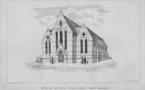 North Woolwich Wesleyan chapel and school, Albert Road, Silverton E16