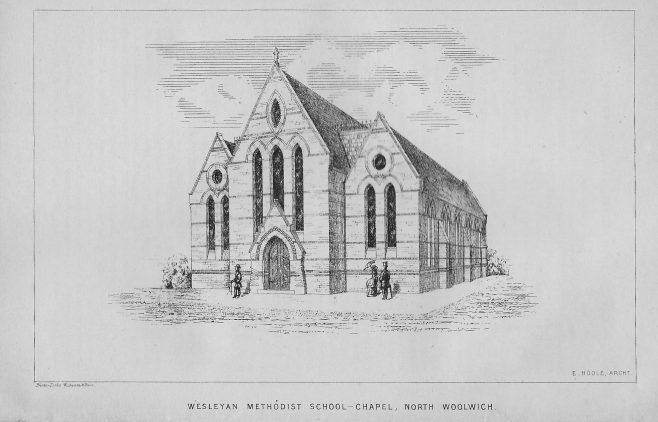 Wesleyan Methodist School-Chapel, North Woolwich | Wesleyan Chapel Committee, 1870