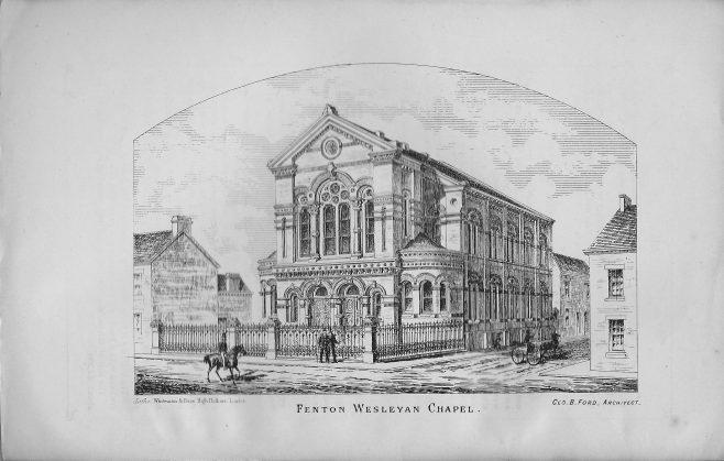 Fenton Wesleyan Chapel   Wesleyan Chapel Committee, 1872