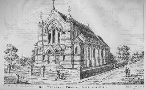 Harriseahead Wesleyan Chapel