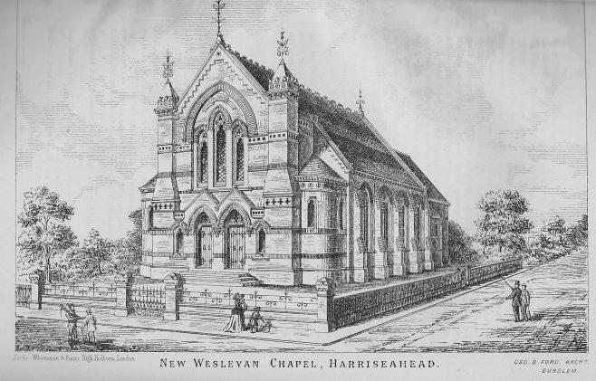 Harriseahead Wesleyan Chapel | Wesleyan Chapel Committee, 1872