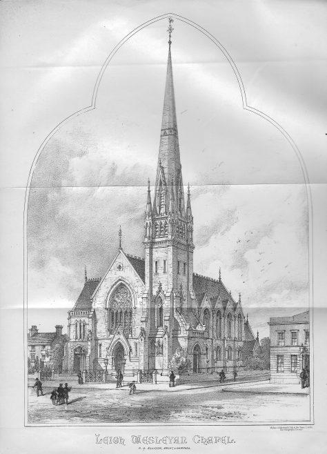 Leigh Wesleyan chapel | Wesleyan Chapel Committee, 1871