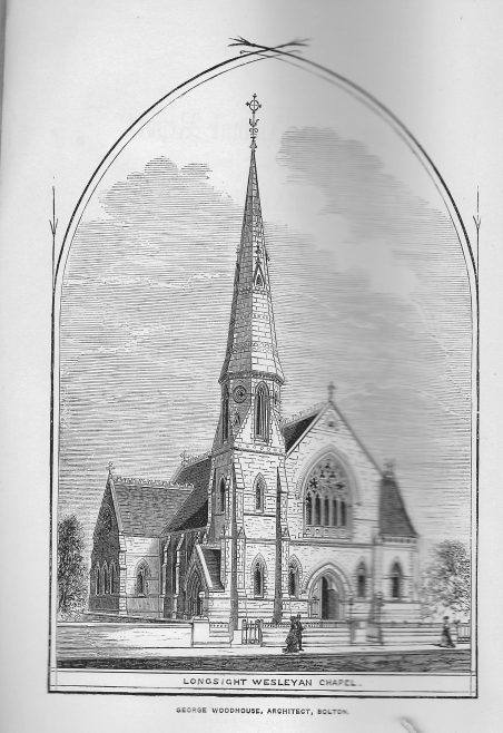 Stockport Road Wesleyan Chapel, Longsight   Wesleyan Chapel Committee, 1868