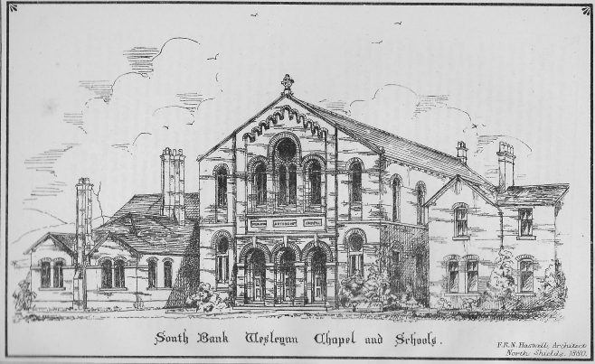 Southbank Wesleyan Chapel and Schools | Wesleyan Chapel Committee, 1880