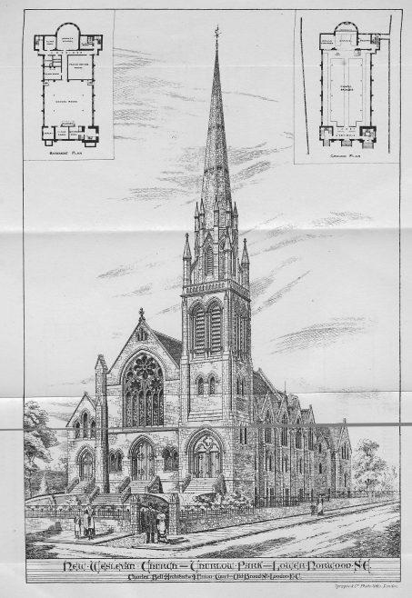 Roupell Park, Norwood Road, Lambeth   | Wesleyan Chapel Committee, 1880