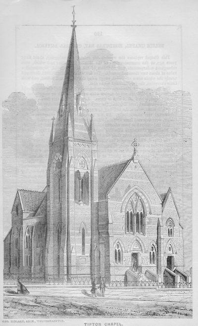 Tipton, Park Lane Wesleyan chapel | Wesleyan Chapel Committee, 1865