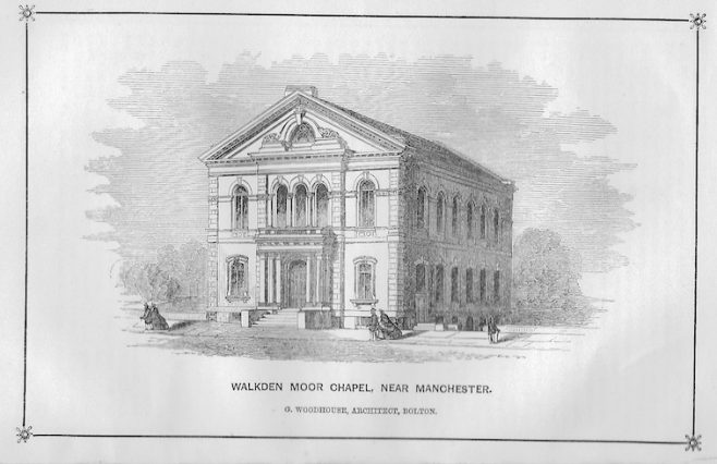 Walkden Moor Weleyan Methodist chapel | Wesleyan Chapel Committee, 1864