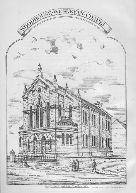 Woodhouse Wesleyan Chapel | Wesleyan Chapel Committee, 1878
