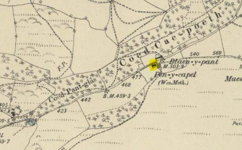 Pen-Y-Capel, Pant Glas, Powys