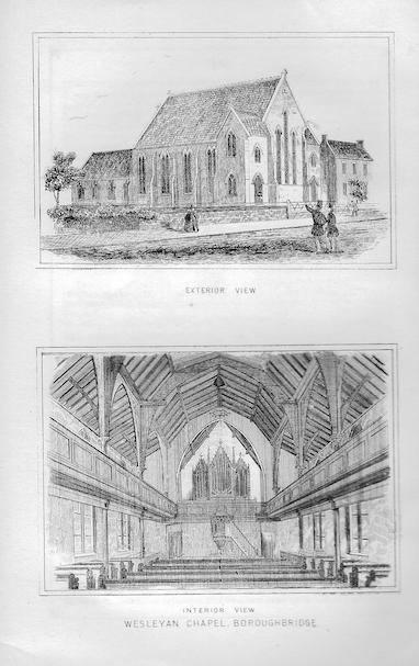 Boroughbridge, Wesley | Wesleyan Chapel Committee, 1864