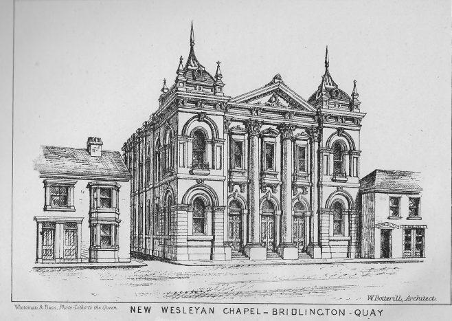 Bridlington Quay, Chapel Street | Wesleyan Chapel Committee, 1872