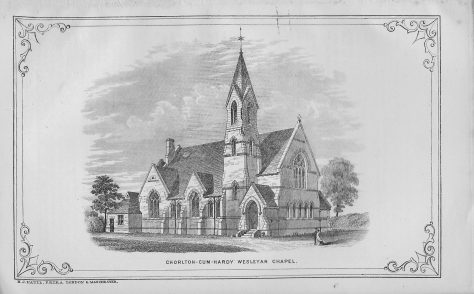 Chorlton-cum-Hardy, Manchester Road Wesleyan chapel