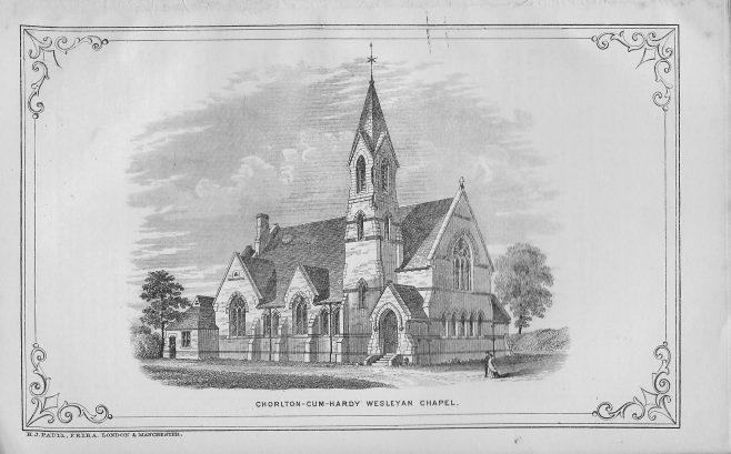 Chorlton-cum-Hardy, Manchester Road chapel | Wesleyan Chapel Committee, 1872