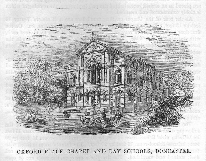 Doncaster, Oxford Place | Wesleyan Chapel Committee, 1871