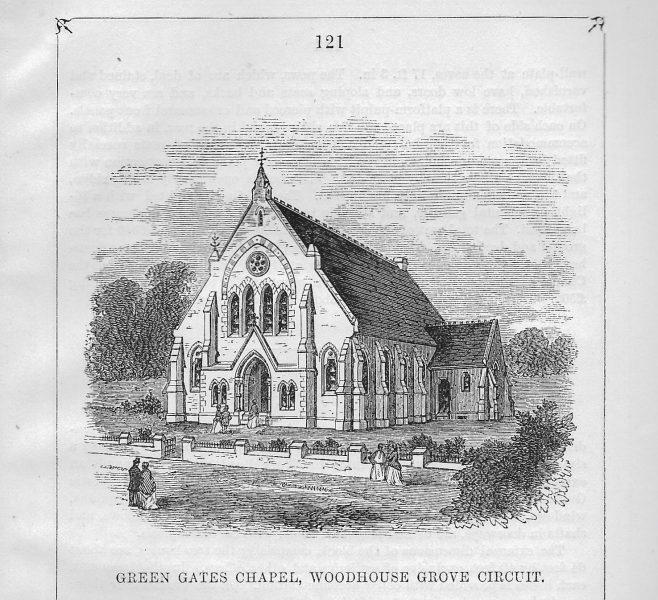 Green Gates, Brunswick chapel | Wesleyan Chapel Committee, 1870
