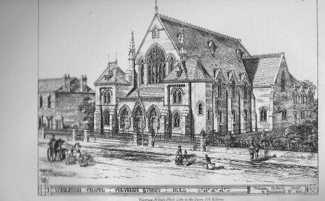 Hull, Trinity Wesleyan chapel, Coltman Street