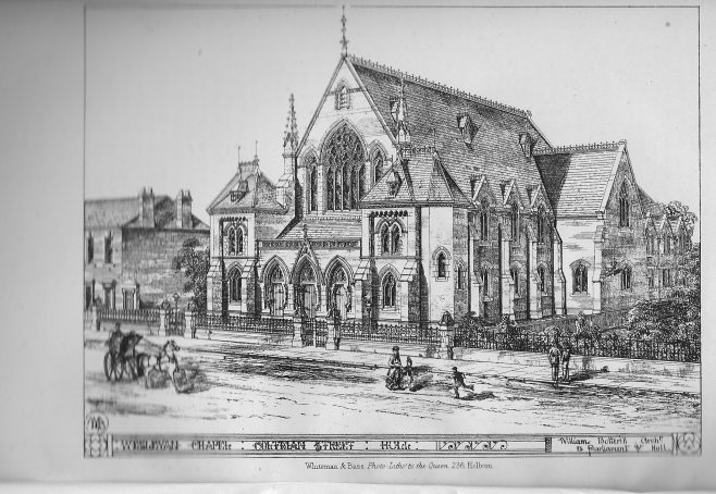 Hull, Trinity, Coltman Street | Wesleyan Chapel Committee, 1872