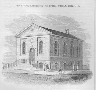 Ince in Makerfield, Rose Bridge Wesleyan chapel