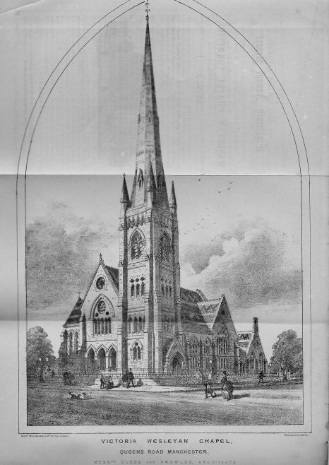 Victoria Wesleyan Chapel, Cheetham Hill, Manchester | Wesleyan Chapel Committee, 1872
