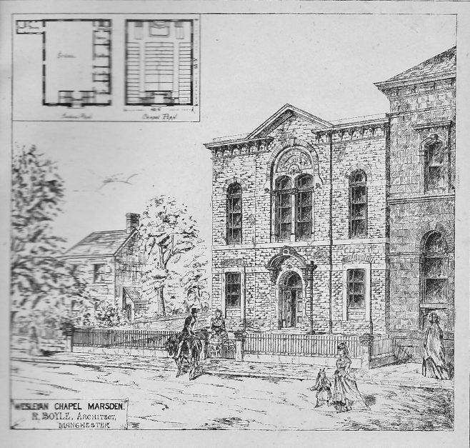 Marsden, Brougham Road | Wesleyan Chapel Committee, 1872