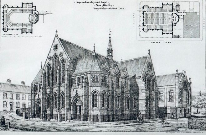 New Wortley Wesleyan chapel | Building News and Engineering Journal, 1874