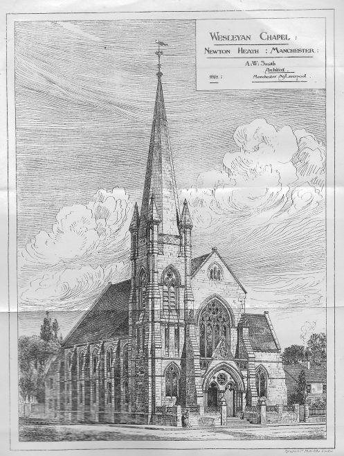 Newton Heath Wesleyan chapel | Wesleyan Chapel Committee, 1882