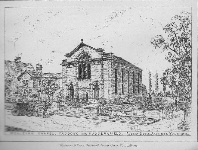 Paddock, Wesley Chapel | Wesleyan Chapel Committee, 1872