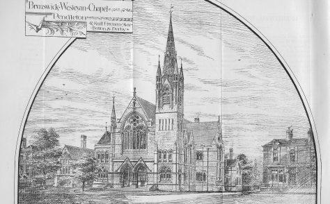 Pendleton, Brunswick Wesleyan Chapel, Broad Street