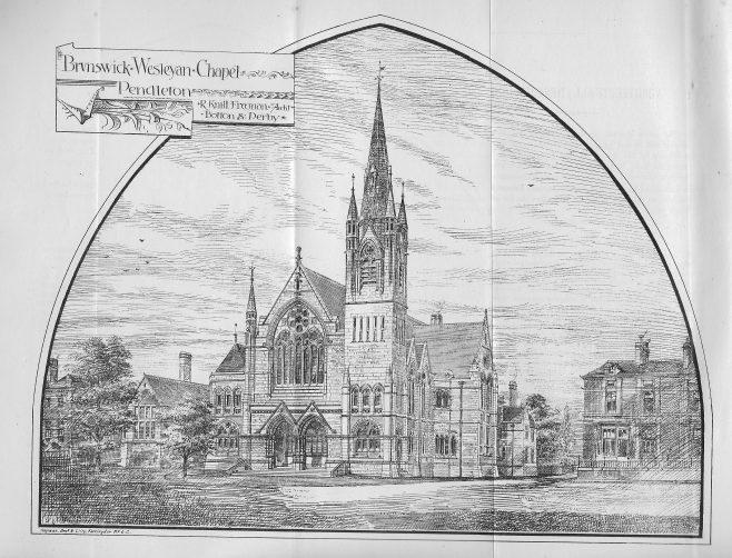 Pendleton, Brunwick Wesleyan | Wesleyan Chapel Committee, 1880