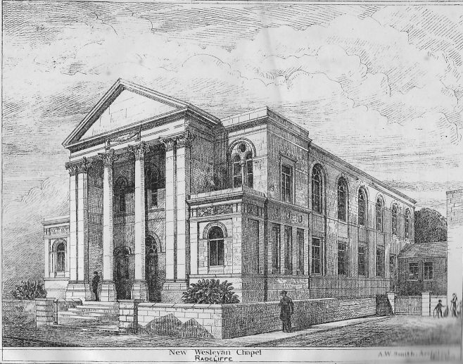 Radcliffe Wesleyan chapel | Wesleyan Chapel Committee, 1882