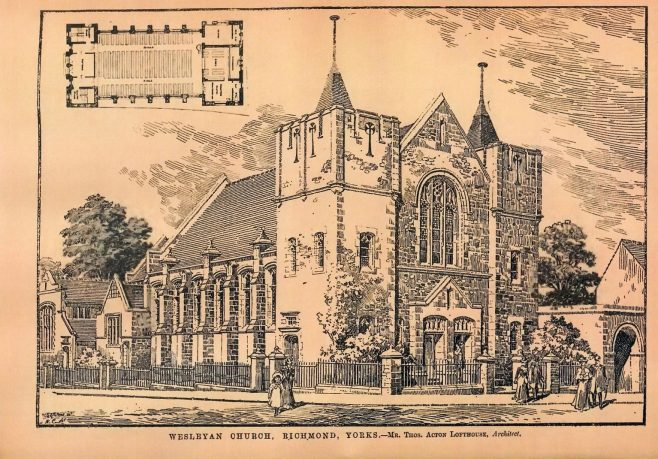 Richmond, Queen's Road Wesleyan | Building News, 1904
