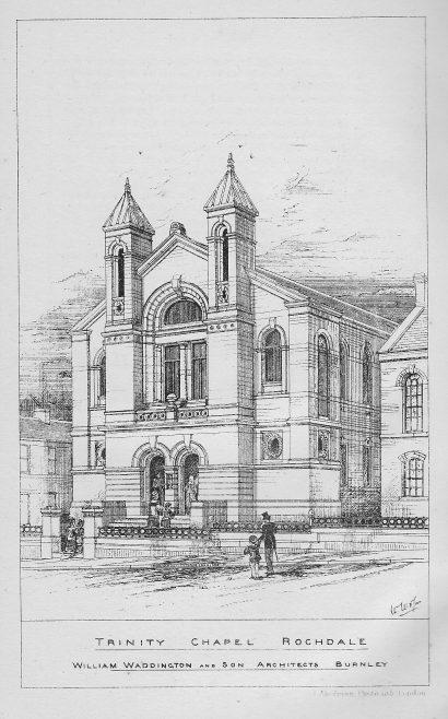 Rochdale, Trinity Wesleyan Chapel | Wesleyan Chapel Committee, 1878