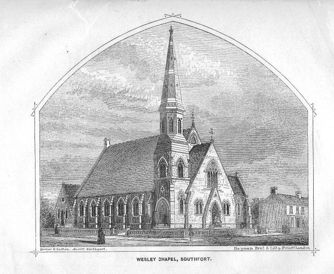 Southport, Wesley Chapel | Wesleyan Chapel Committee, 1871