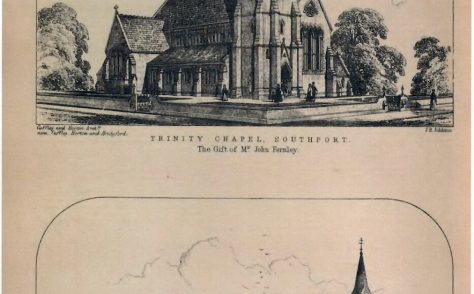 Southport, Trinity Wesleyan Chapel and Day Schools, Duke Street