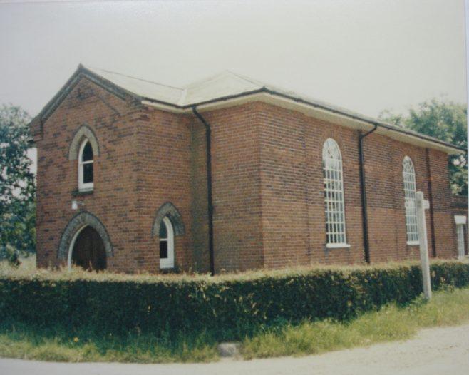 Boxted Wesleyan Methodist chapel | Keith Guyler 1986