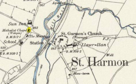 St Harmon Chapel, Powys