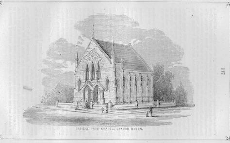 Bassein Park, Askew Road Wesleyan chapel