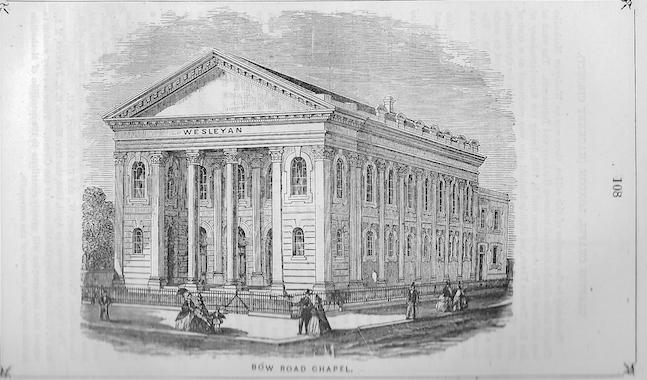 Bow Road Wesleyan chapel, Poplar | Wesleyan Chapel Committee, 1866