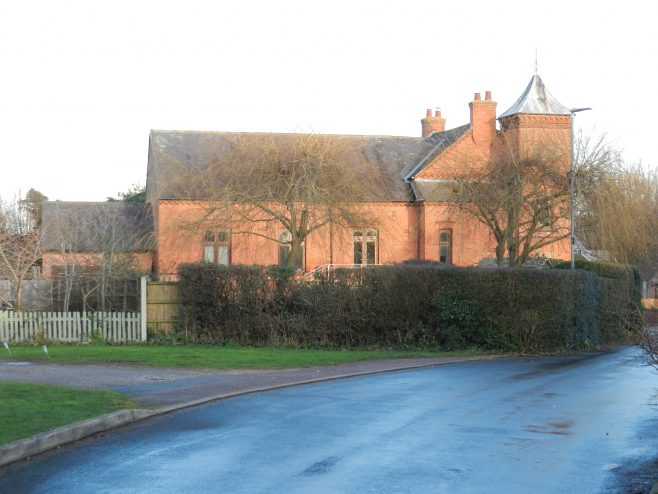 Old Dalby Wesleyan Church from the side | Philip Thornborow, 2020