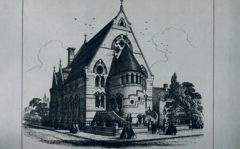 Dalston, Mayfield Terrace Wesleyan chapel