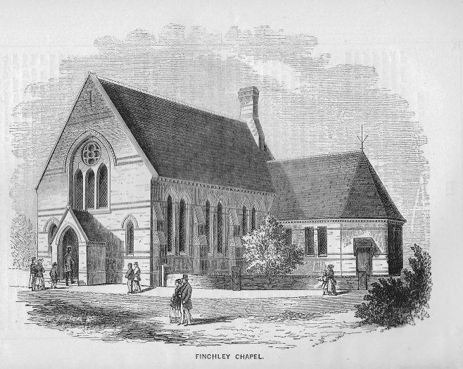 Finchley chapel | Wesleyan Chapel Committee, 1870