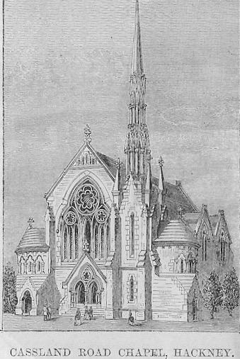 Cassland Road Wesleyan chapel, Hackney | Wesleyan Chapel Committee, 1872