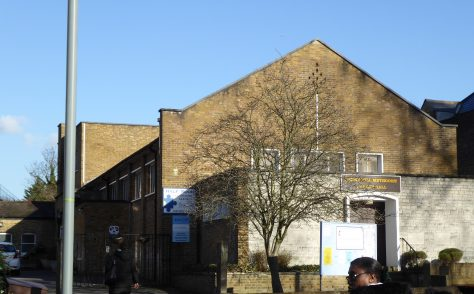 Herne Hill, Half Moon Lane, Wesleyan Methodist Chapel, Surrey
