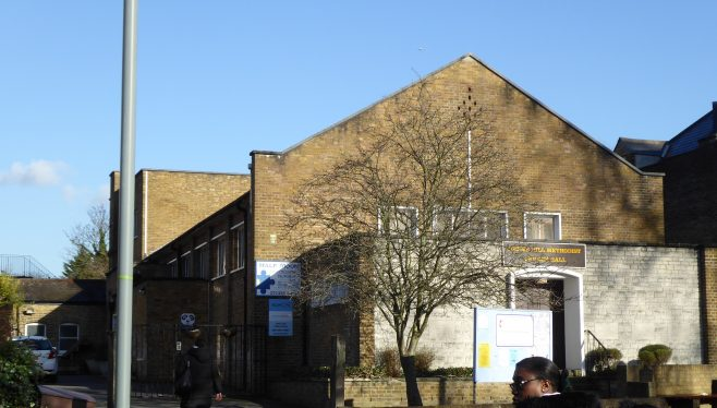 Herne Hill WM Chapel, general view 18.1.2020